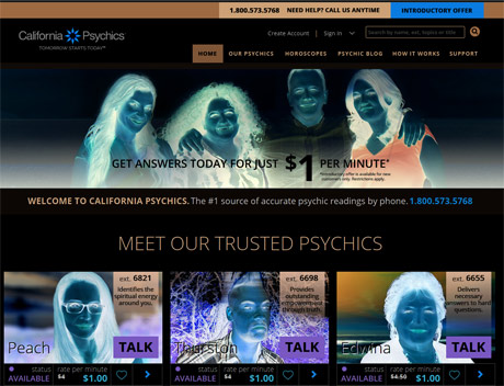 CaliforniaPsychics.com Complaints & Rip Off Reports