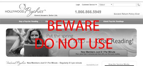 HollywoodPsychics.com Complaints & Rip Off Reports